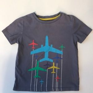 Mini Boden plane t-shirt